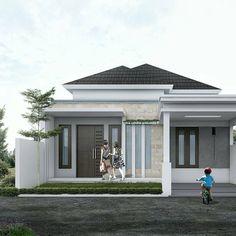 Cakep Berwibawa Luxury House Plans Modern Design Rumah Vacant Land