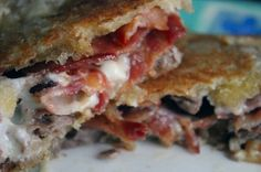 Grilled Roast Beef and Bacon Club Sandwich @ Daily Dish Recipes