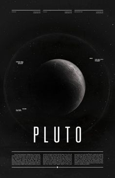 Pluto - once upon a time there was a planet...