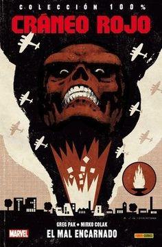 Cráneo Rojo El Mal Encarnado