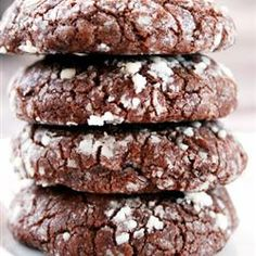 Chewy Chocolate Cookies | Trying with mint chips instead of chocolate chips