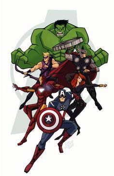 The Avengers assamble!