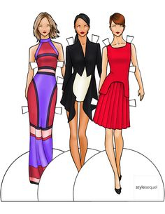 Style Sequel Paper Dolls — by Danielle Meder March 8, 2013
