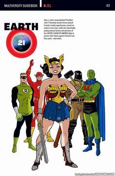DC's New Multiverse: A few Earth's worth noting - The Marvel/DC Co-Fan Club Arte Dc Comics, Dc Comics Superheroes, Marvel Vs, Marvel Comics, Comic Books Art, Comic Art, Geeks, Superhero Facts, Arte Nerd