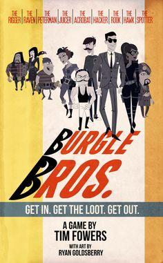 Burgle Bros. | Image | BoardGameGeek