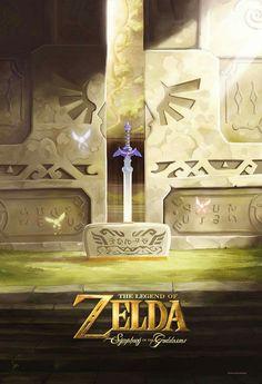 Legend Of Zelda. Symphony of the godess