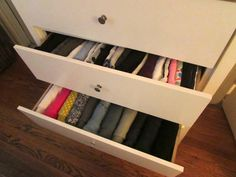 How to Fold Clothes Vertically – Clothing Organization Ideas – ALL YOU | Deals, coupons, savings, sweepstakes and more…