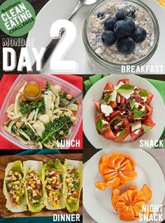 clean eating challenge, day 2