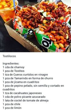 Tostilocos- My kind of walking taco!! Antojitos Mexicanos, Mexican Cooking, Mexican Candy, Mexican Snacks, Mexican Fruit Cups, Mexican Food Recipes, Ethnic Recipes, Tamarindo, Snack Recipes