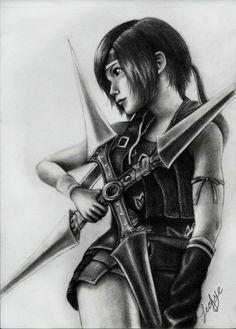 Final Fantasy Art | final fantasy yuffie kisaragi i by leafye fan art traditional art ...