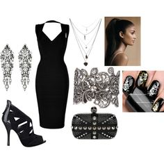 """""""Girl's Night Out"""" by theasian79 on Polyvore"""