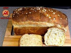 Burgonyás kenyér recept / Anzsy konyhája - YouTube Bread, Youtube, Food, Brot, Essen, Baking, Meals, Breads, Buns