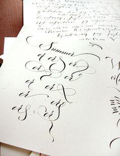 Calligraphy by Marina Marjina
