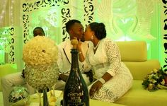 NIGERIAN TOP SECRET: Congrats! Official photos from comedian Maleke's w...