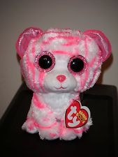 cute omg super cute l could die I love tiger! Big Eyed Animals, Ty Animals, Ty Stuffed Animals, Plush Animals, Rare Beanie Boos, Ty Teddies, Ty Beanie Boos Collection, Ty Peluche, Ty Toys