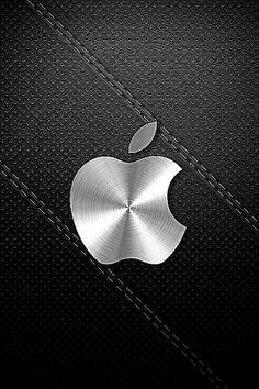 Black Apple Logo iPhone 5 HD Lock Screen Wallpapers HD iPhone