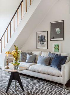 Двухуровневая квартира в спальном районе Стокгольма (92 кв. м)   Пуфик - блог о дизайне интерьера