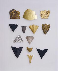 hermann junger / golden & dark shapes