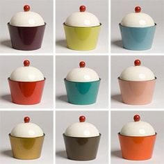 cupcake shaped lacquerware