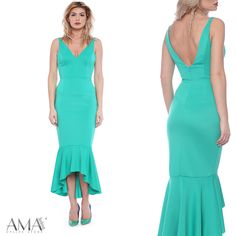 Rochie eleganta de tip sirena de culoare turcoaz. Chic, Dresses, Fashion, Shabby Chic, Vestidos, Moda, Elegant, Fashion Styles, Dress