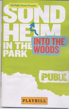 Into the Woods in Central Park, Friday, August 17, 2012.