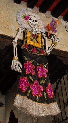 Skeleton Tehuana Oaxaca | Flickr - Photo Sharing!