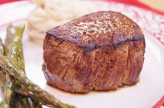 Filet Mignon Recipe - Learn How To Cook Filet Mignon: Make the BEST, Perfect Beef Tenderloin Steak by cooking the filet in a pan on the stove and then in the oven. This method creates a delicious, tender and juicy beef tenderloin steak! Recipe by: Diane Kometa - Dishin With Di