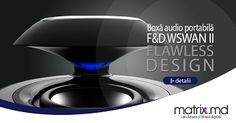 F&D Plastic Swan (Portable, Black, Bluetooth, Li-Ion battery, Handsfree) Swan, Bluetooth, Plastic, Black, Design, Swans, Black People