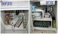 Batchelors Way: Bathroom Storage and Organization