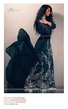 Morrocan dress with crystals