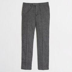 J.Crew Factory - Factory slim donegal Bedford pant