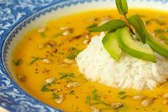 The Café Sucré Farine: Thai butternut coconut curry soup