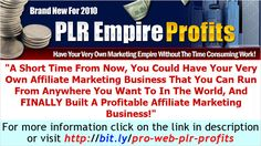 Affiliate Marketing For Beginners - Amazing Affiliate Marketing Business with PLR products.     Tip and strategies learning internet marketing learn how to earn $160 to $400 dollars daily @ ===>>http://MAKE-MONEY-QUICK-NO-BS.COM