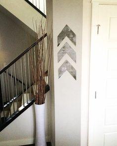 Rustic Metal Chevron Arrow Home Decor by ModernRusticMetalArt