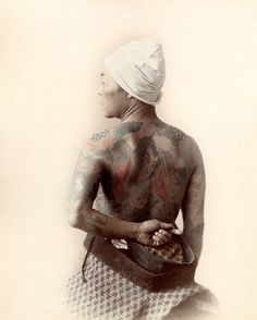 Full-body tattoo, ca. 1880