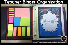 The Pinspired Whole Brain Teacher: How I Stay Organized with My Teacher Binder