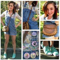 Ellie from Up Disneybound! I love Ellie! Disney Themed Outfits, Disney Bound Outfits, Disney Time, Cute Disney, Disney Stuff, Up Costumes, Disney Costumes, Disney Dress Up, Dapper Day
