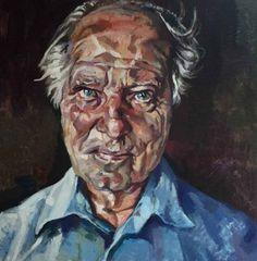 "Saatchi Art Artist Rogier Willems; Painting, ""Jaap"" #art"