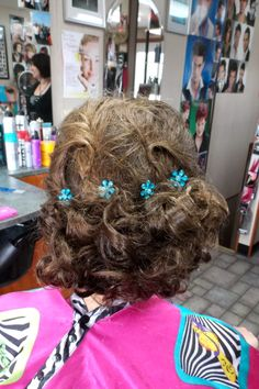 Vicki's Styling Station - Quinnesec, MI - Prom / Wedding / Bridesmaid / Updo (Back View)