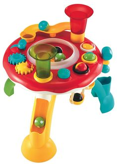 -This helps the baby learn skills. -It will help the baby learn how to play with their toys easier. -Price:$38.99