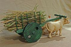 Cute decor of cart handmade idea