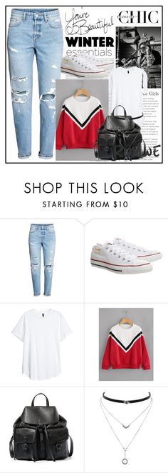 """RoMwE"" by armsdani ❤ liked on Polyvore featuring Topshop, Steve Madden, Jessica Simpson, Oris and Burton"