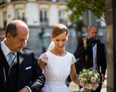 El vestido - La boda con estilo de María y Nacho - TELVA.com
