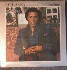 "Paul Anka 12"" ROCK LP - United Artists UA-LA367-G STEREO ""Feelings"" 33 RPM  #SoftRock"