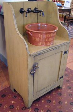 Oley Valley Reproductions – Redware sink – want this!