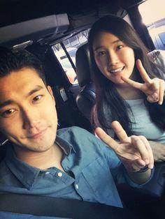 Siwon shows off his pretty sister Jiwon