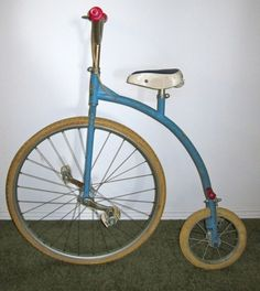 and the vintage fixie tricycle.