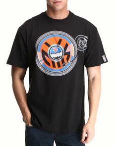 New York Knicks Wax Tee by NBA, MLB, NFL Gear