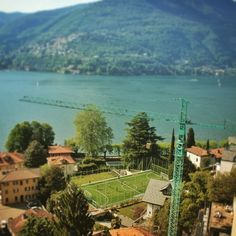 A football pitch located by Lake Como in Italy, taken by one of the @capptura team! Show us your snaps using #Capptura !@whereisfootball #whereisfootball #instagood #picoftheday #photooftheday #football #lakecomo #italy #lake #summer #photography