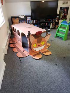 2nd Birthday Parties, Diy Birthday, Birthday Party Decorations, Totoro, Party Activities, Activities For Kids, Diy For Kids, Crafts For Kids, Japan Crafts